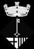 Escut de Sant Pere de Vilamajor (Blanc i negre)