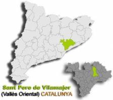 Localització Sant Pere de Vilamajor